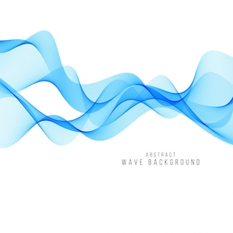 Vettore elegante della priorità bassa dell'onda blu moderna