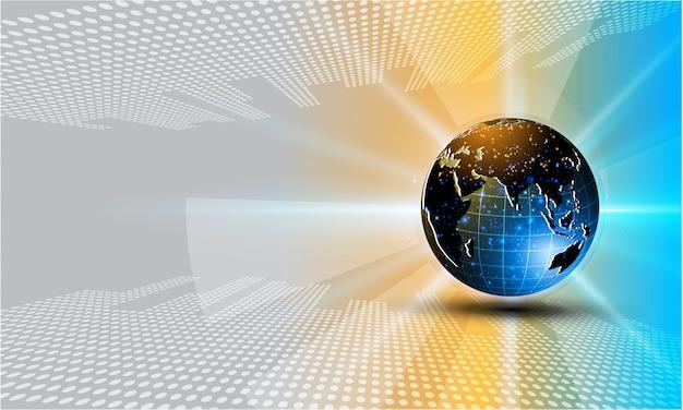 Vettore futuristico cyber del fondo env 10 di concetto di progetto di tecnologia di sci fi