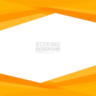 Vettore geometrico moderno della priorità bassa dell'onda