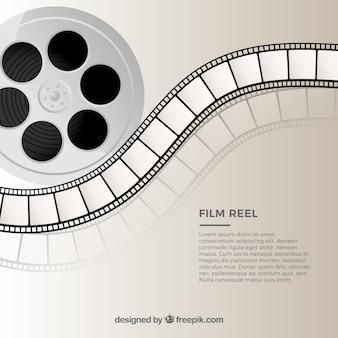 Vettore la bobina del film