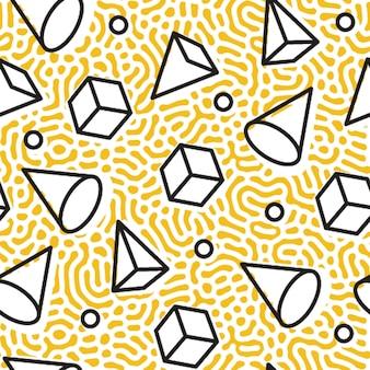 Vettore moderno senza cuciture del modello geometrico