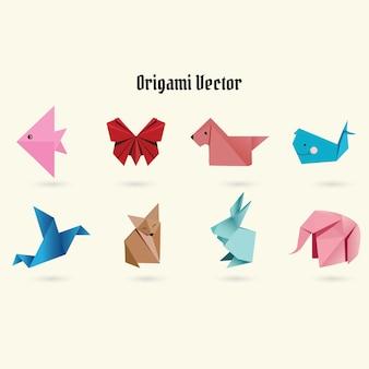 Vettore origami