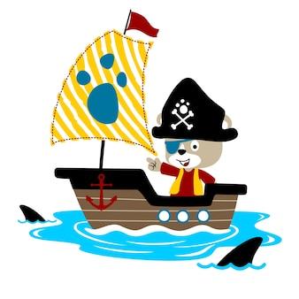 Vettore pirata pirata