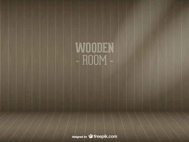 Vettore room legno scaricare gratis