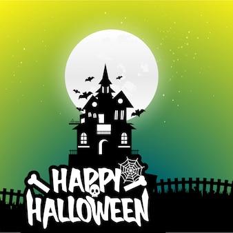 Vettori di sfondo di halloween