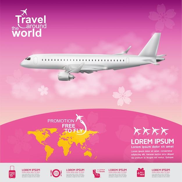 Viaggia in giro per il mondo poster
