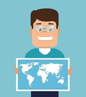 Viaggiare in tutto il mondo