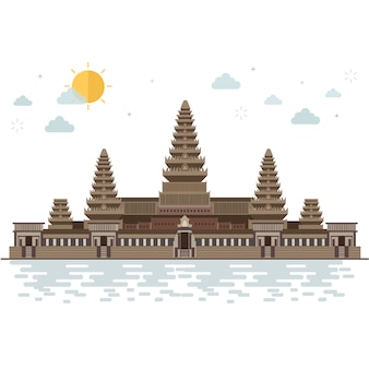 Viaggio ad angkor wat in cambogia