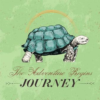 Viaggio e viaggio logo design vettoriale