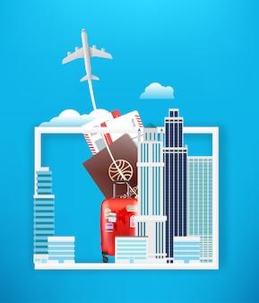 Viaggio nel mondo con i grattacieli