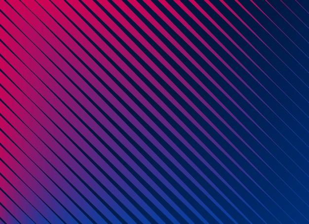 Vibranti linee diagonali pattern di sfondo