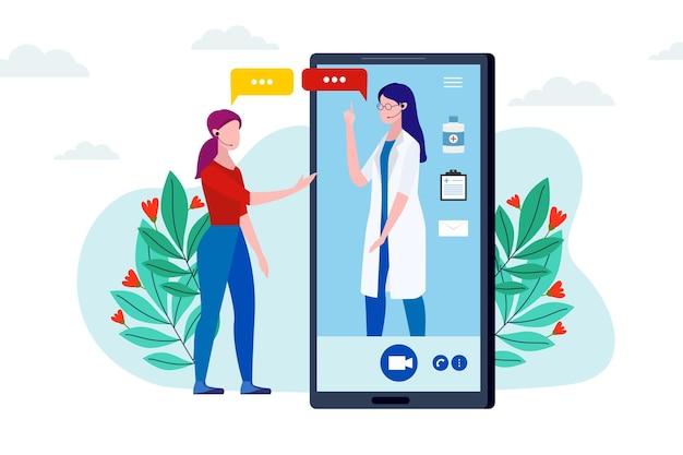Videocallazione con terapista