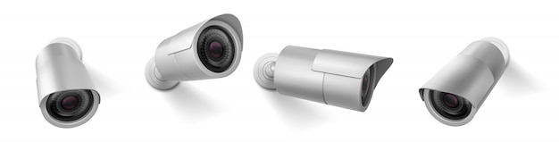 Videocamera di sicurezza, attrezzatura senza fili della videocamera del cctv