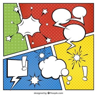 Vignette colorate impostate
