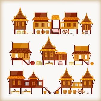 Villaggi in tailandia