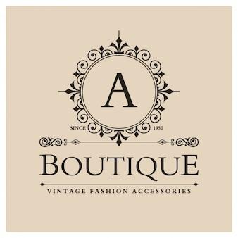 Vintage boutique logo