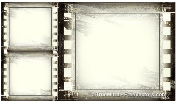 Vintage grunge frame sfondo