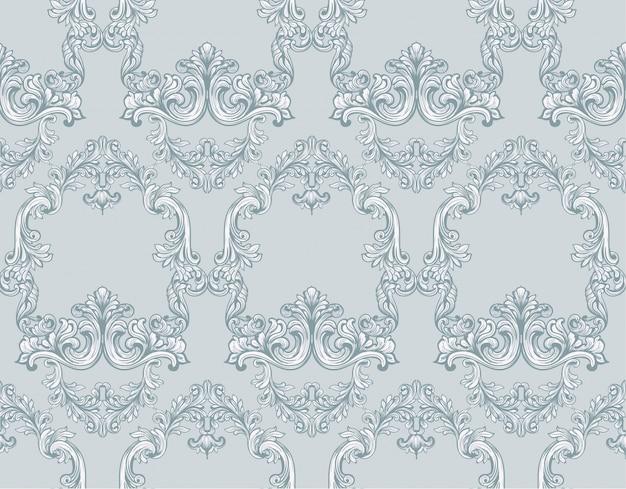 Vintage pattern background illustrazione vettoriale