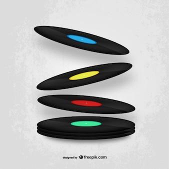 Vinyls disegno vettoriale