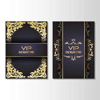 Vip design flyer