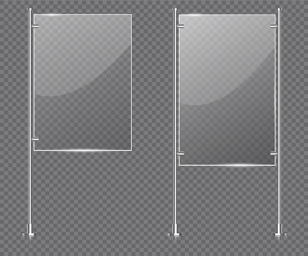 Visualizza il vetro del supporto
