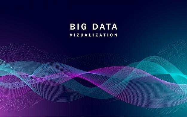 Visualizzazione banner di big data