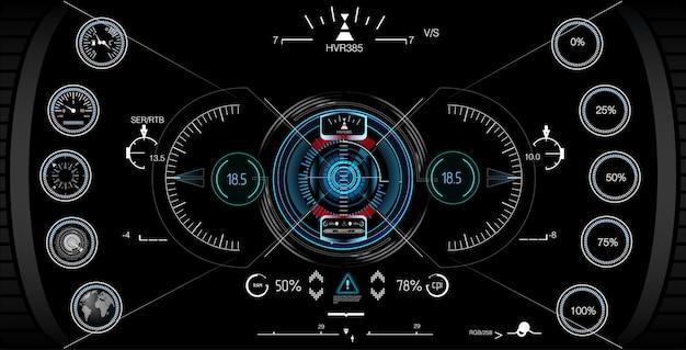 Visualizzazione del gioco head-up.