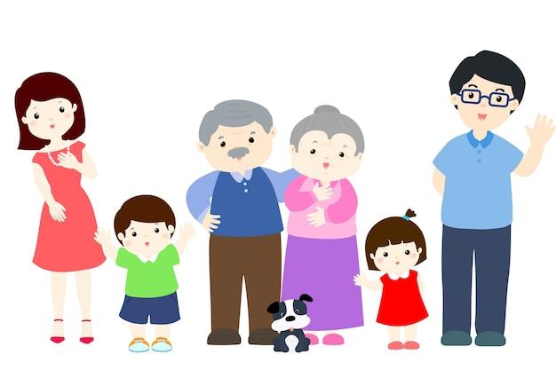 Vivace design di carattere familiare
