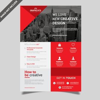 Volantino aziendale creativo