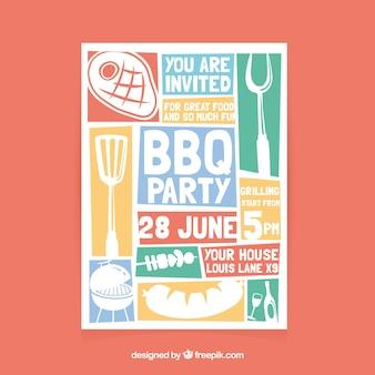 Volantino festa barbecue
