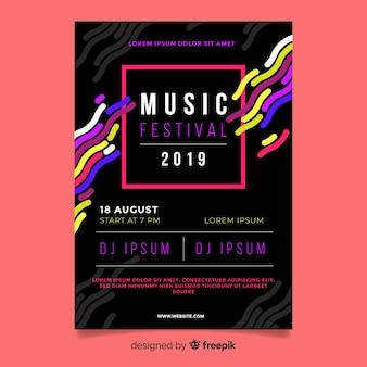 Volantino festival musicale