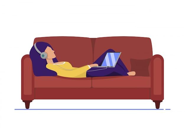 Volantino informativo rilassamento musicale a casa.