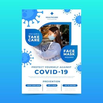 Volantino informativo sul coronavirus