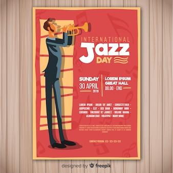 Volantino internazionale del jazz