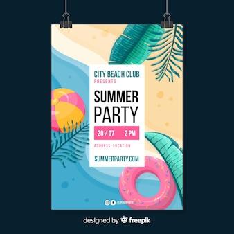 Volantino per feste estive