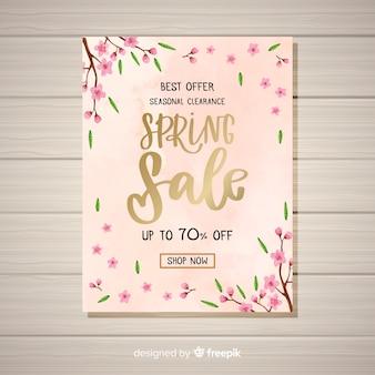Volantino vendita primavera