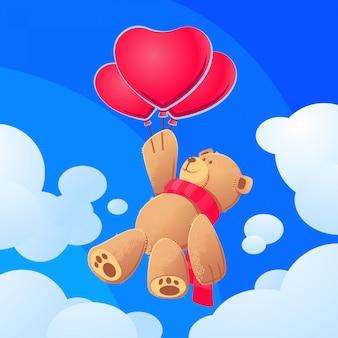 Volare orsacchiotto carino