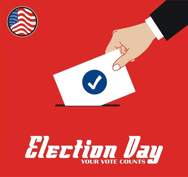 Vota il giorno delle elezioni