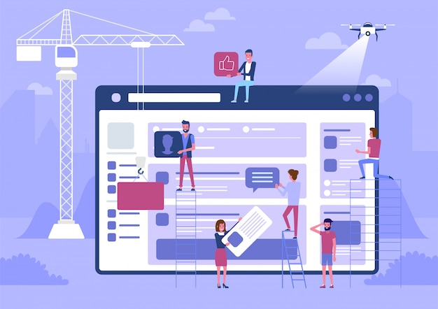 Web design e sviluppo.