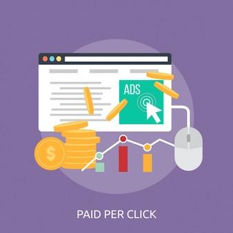 Web design pagamento sfondo
