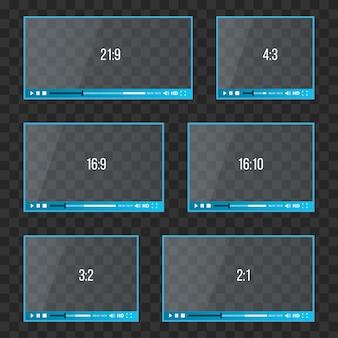 Web player per video