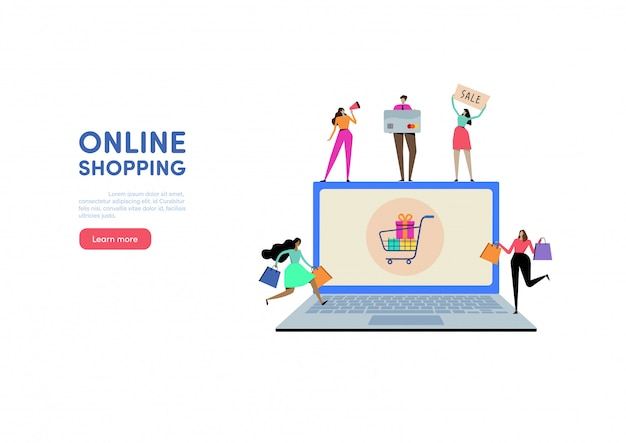 Web shopping online