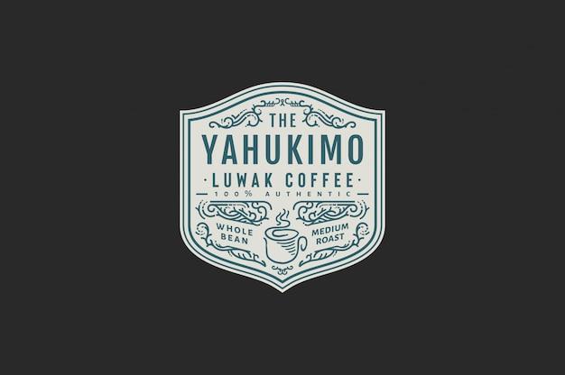 Yahukimo luwak caffè colore caffè