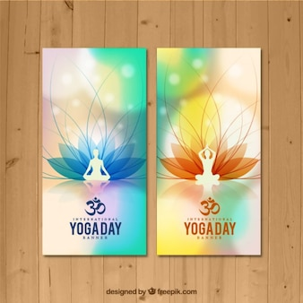 Yoga pone banner