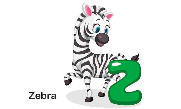 Z per zebra