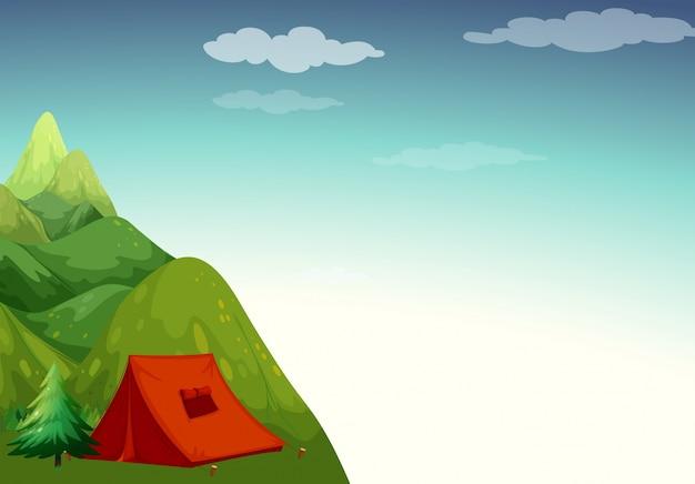 Zona di campeggio