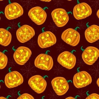 Zucca di sfondo hallowen