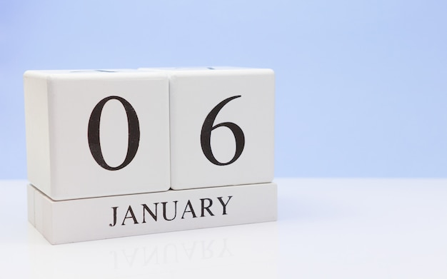 06 januari. dag 06 van de maand