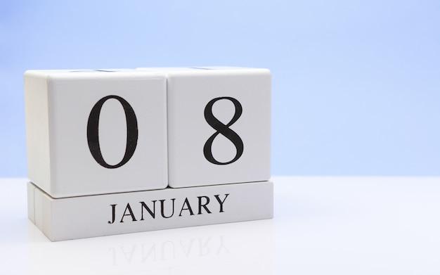 08 januari. dag 08 van de maand