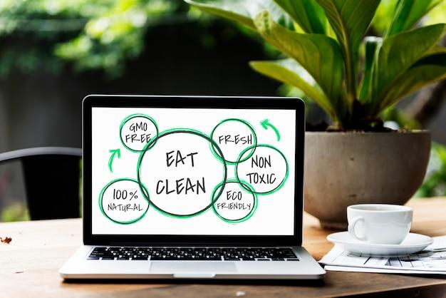 100% natuurlijke voeding gezond eten leven
